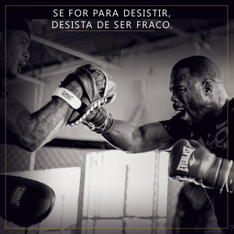 Frases Musculação Blog World Combat